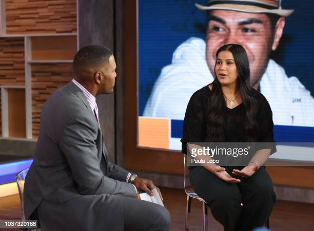 AMERICA Sydney Seau is a guest on 'Good Morning America' Friday September 21 2018 on the ABC Television Network MICHAEL