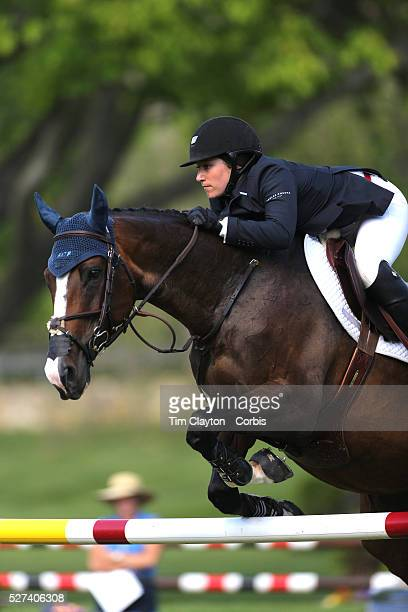 Sydney Shulman riding Venice in action during the $100000 Empire State Grand Prix presented by the Kincade Group during the Old Salem Farm Spring...