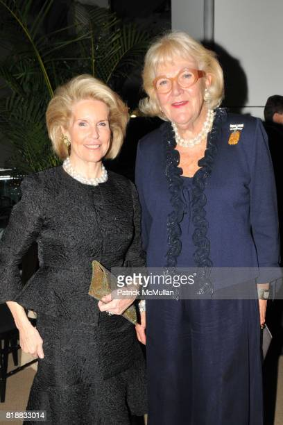 Sydney Shuman and Nancy Baker attend SHALL WE DANCE An Evening Honoring ALBERT HADLEY to Benefit LENOX HILL NEIGHBORHOOD HOUSE at Sotheby's on April...