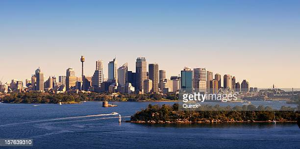 sydney skyline, australia - north stock pictures, royalty-free photos & images