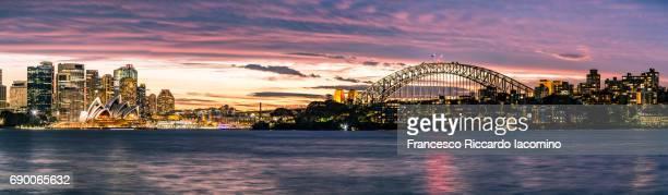 sydney skyline - francesco riccardo iacomino australia foto e immagini stock