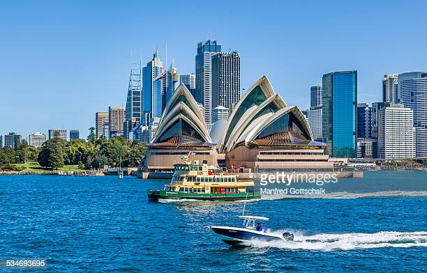 Sydney skyline with Opera House