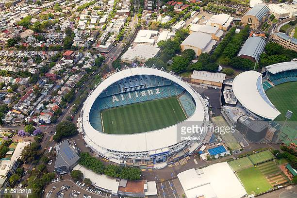 Sydney Stadium aerial view