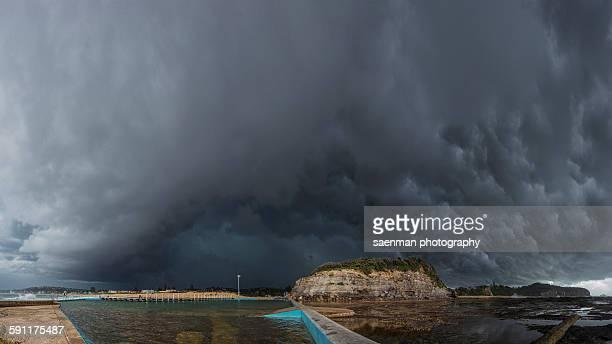 Sydney storm cell