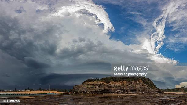 Sydney storm