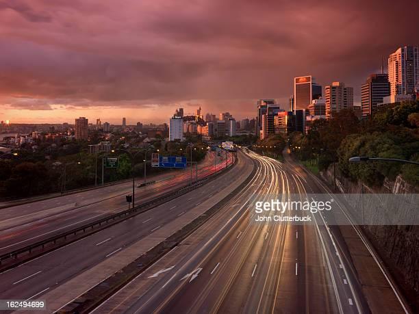 Sydney Stormy dawn