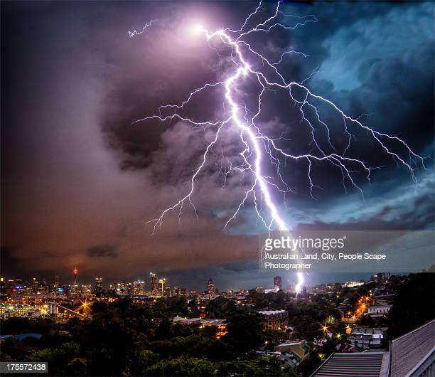 Sydney Summer Lightning Strike