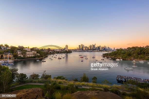 Sydney Sunrise at Waverton.