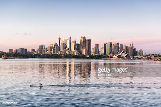sydney sunrise moments - sydney stock pictures, royalty-free photos & images