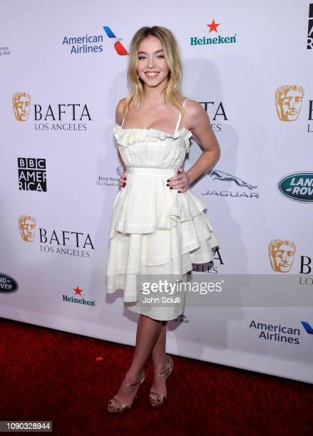 Sydney Sweeney arrives to the BAFTA Tea Party at The Four Seasons Hotel Los Angeles at Beverly Hills on January 05 2019 in Beverly Hills California