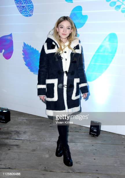 "Sydney Sweeney at the ""Big Time Adolescence"" afterparty at DIRECTV Lodge presented by ATT at Sundance Film Festival 2019 on January 28 2019 in Park..."