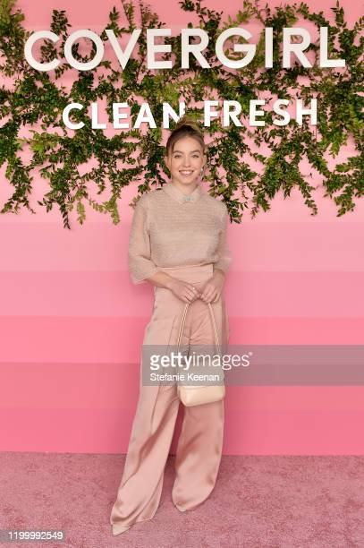 Sydney Sweeney attends Covergirl Clean Fresh Launch Party on January 16 2020 in Los Angeles California
