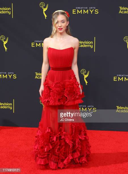 Sydney Sweeney attends the 2019 Creative Arts Emmy Awards on September 15 2019 in Los Angeles California