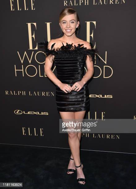 Sydney Sweeney attends the 2019 ELLE Women In Hollywood at the Beverly Wilshire Four Seasons Hotel on October 14 2019 in Beverly Hills California