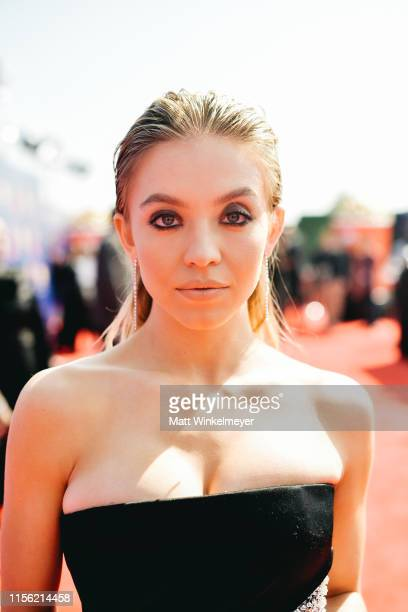 Sydney Sweeney attends the 2019 MTV Movie and TV Awards at Barker Hangar on June 15 2019 in Santa Monica California