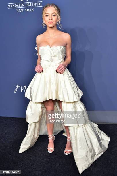 Sydney Sweeney attends the 2020 amfAR New York Gala on February 05, 2020 in New York City.