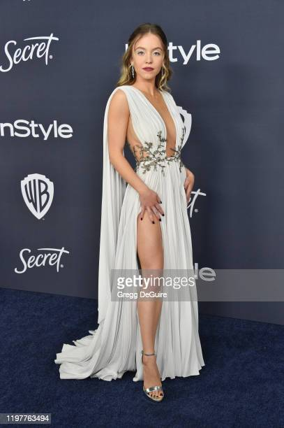 Sydney Sweeney attends the 21st Annual Warner Bros And InStyle Golden Globe After Party at The Beverly Hilton Hotel on January 05 2020 in Beverly...