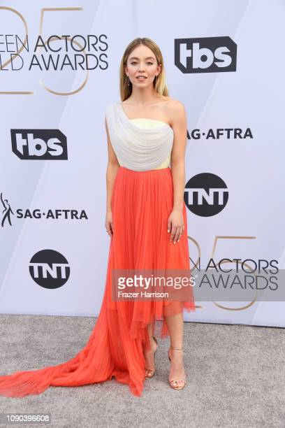 Sydney Sweeney attends the 25th Annual Screen Actors Guild Awards at The Shrine Auditorium on January 27 2019 in Los Angeles California