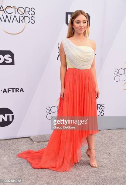Sydney Sweeney attends the 25th Annual Screen Actors Guild Awards at The Shrine Auditorium on January 27 2019 in Los Angeles California 480645