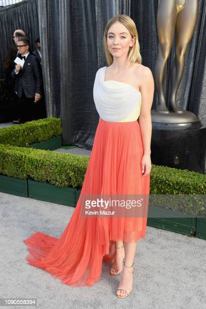 Sydney Sweeney attends the 25th Annual Screen Actors Guild Awards at The Shrine Auditorium on January 27, 2019 in Los Angeles, California. 480568