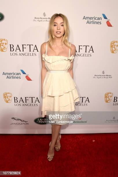 Sydney Sweeney attends The BAFTA Los Angeles Tea Party at Four Seasons Hotel Los Angeles at Beverly Hills on January 5 2019 in Los Angeles California