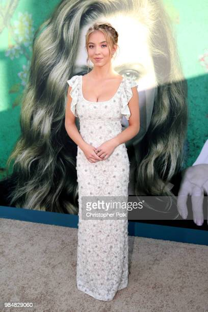 Sydney Sweeney attends the premiere of HBO's 'Sharp Objects' at The Cinerama Dome on June 26 2018 in Los Angeles California