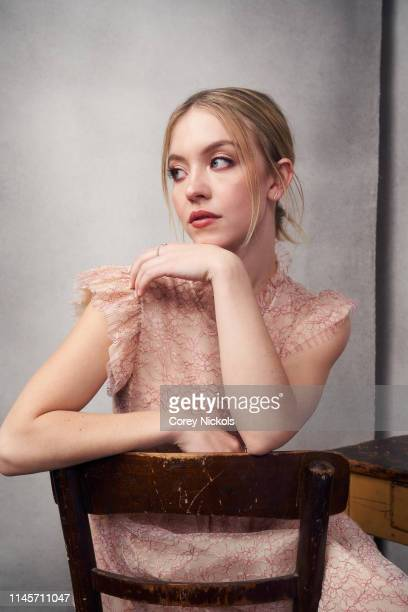 Sydney Sweeney of film 'Clementine' poses for a portrait during the 2019 Tribeca Film Festival at Spring Studio on April 28 2019 in New York City