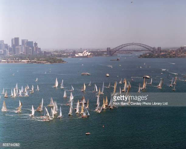 Sydney to Hobart Yacht Race Start