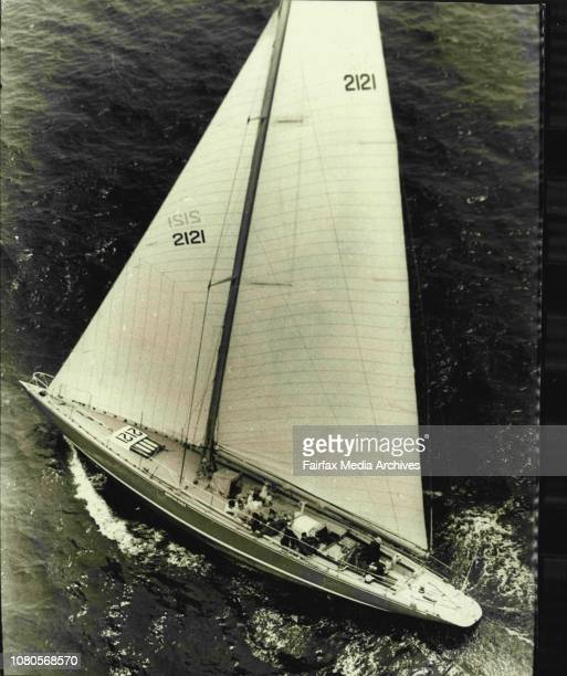 Sydney to Hobart Yacht RaceAmerican Eagle fighting for the lead with GraybeardYachts are pictured on the second day of the race about 70 miles off...