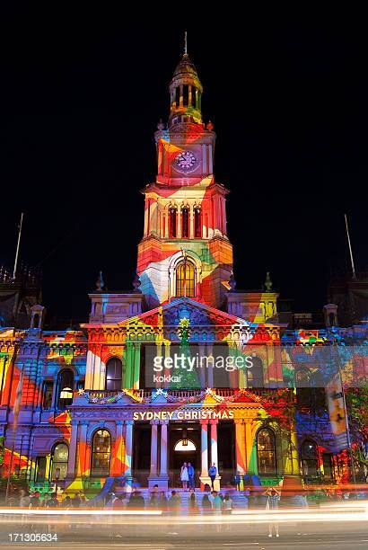 Sydney Town Hall - Christmas Projections