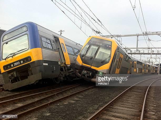 Sydney train crash