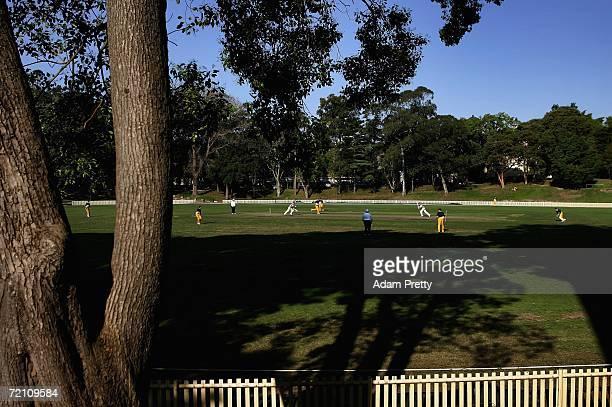 Sydney University play Gordon in a Sydney First Grade match at Sydney University on October 7 2006 in Sydney Australia This weekend of the Australian...