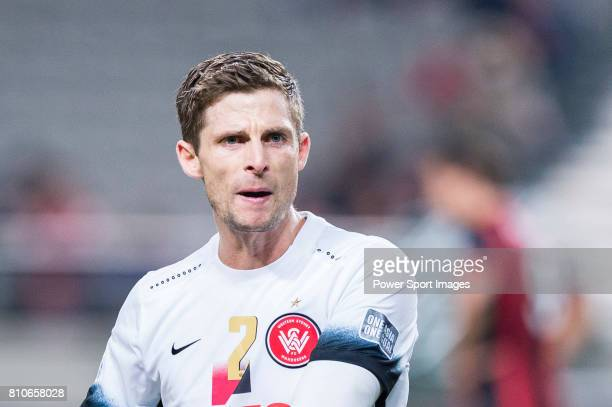 Sydney Wanderers Defender Shannon Cole reacts during the AFC Champions League 2017 Group F match between FC Seoul vs Western Sydney Wanderers at the...