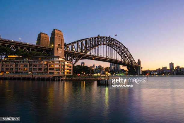 SydneyHarbour Bridge At Dawn