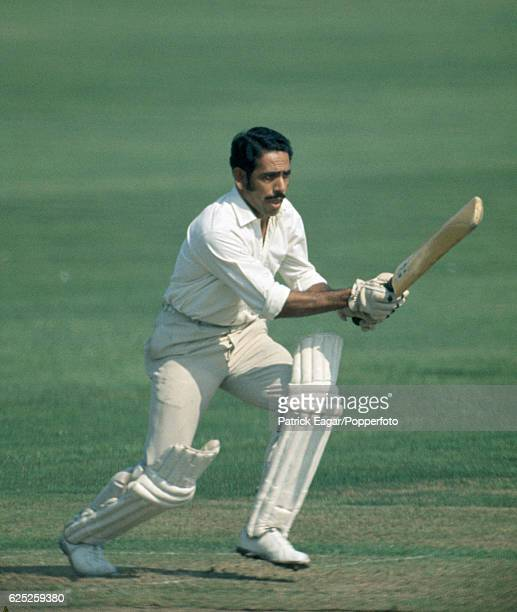 Syed Abid Ali batting for India during the tour match between Sussex and Indians at the County Ground Hove 25th August 1971