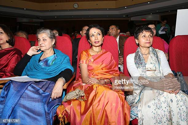 Syeda Hameed Women Rights Activist and a member of the Planning Commission Bharatanatyam dancer Alarmel Valli Merry Barua Director of Action for...
