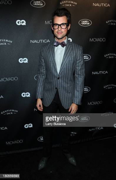 Sylist Brad Goreski attends GQ's Gentlemen's Ball Presented By Gentleman Jack Land Rover Movado and Nautica at The Edison Ballroom on October 26 2011...