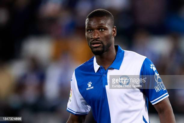 Sylla of Alaves looks on during the spanish league, LaLiga, football match between Deportivo Alaves and Real Betis Balompie at Mendizorrotza on 18 of...
