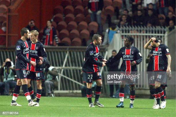 Sylvain ARMAND / Mateja KEZMAN / Peguy LUYINDULA PSG / Nancy 1/8 de finale de la Coupe de la Ligue