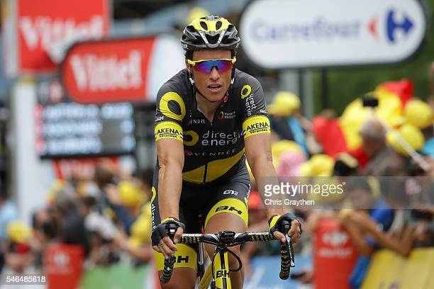 Sylvain Chavanel of France riding for Direct Energie finishes stage ten of the 2016 Le Tour de Frane a 197km stage from EscaldesEngordany to Revel on...