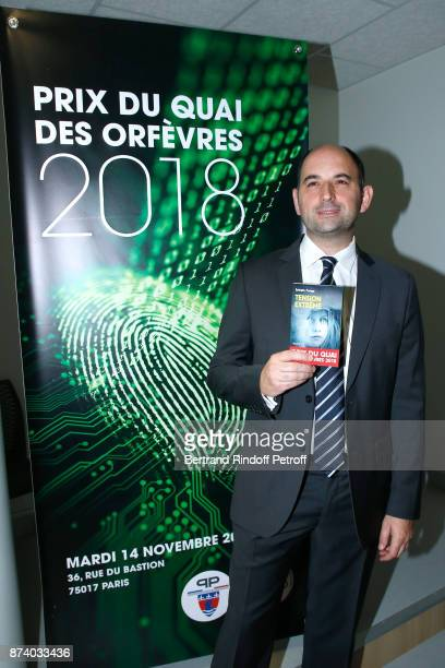 Sylvain Forge wins the '71eme Prix du Quai des Orfevres 2018' for his Book 'Tension Extreme' Held for the first time at new local of the 'Direction...