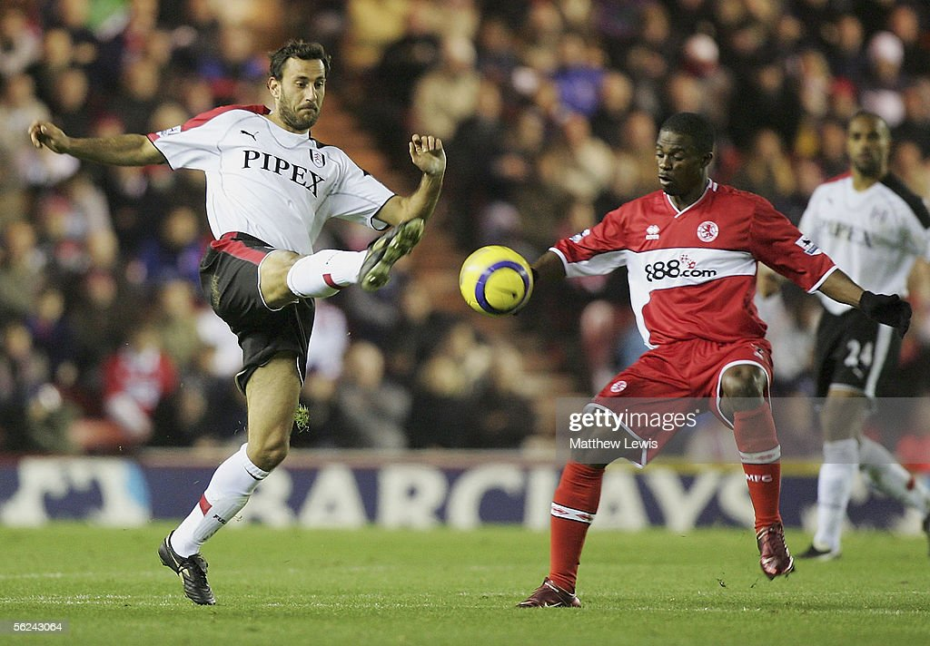 Middlesbrough v Fulham : News Photo