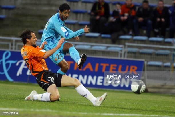 Sylvain MARCHAL / Issam JEMAA Lorient / Lens 28eme journee de Ligue 1