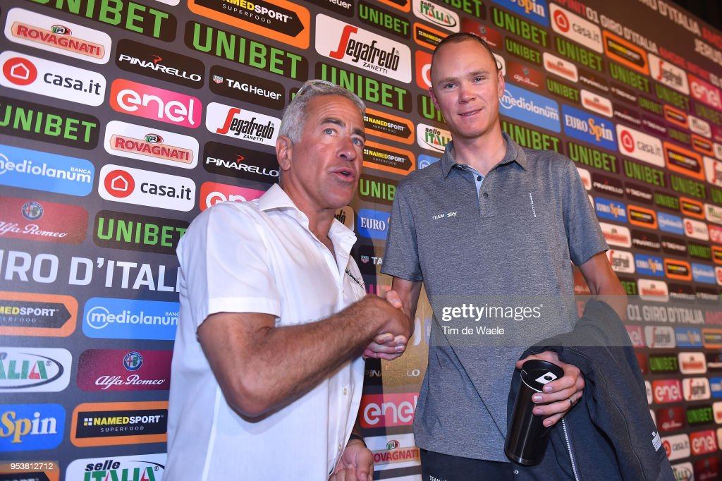 Cycling: 101th Tour of Italy 2018 / PC Team Sky : News Photo
