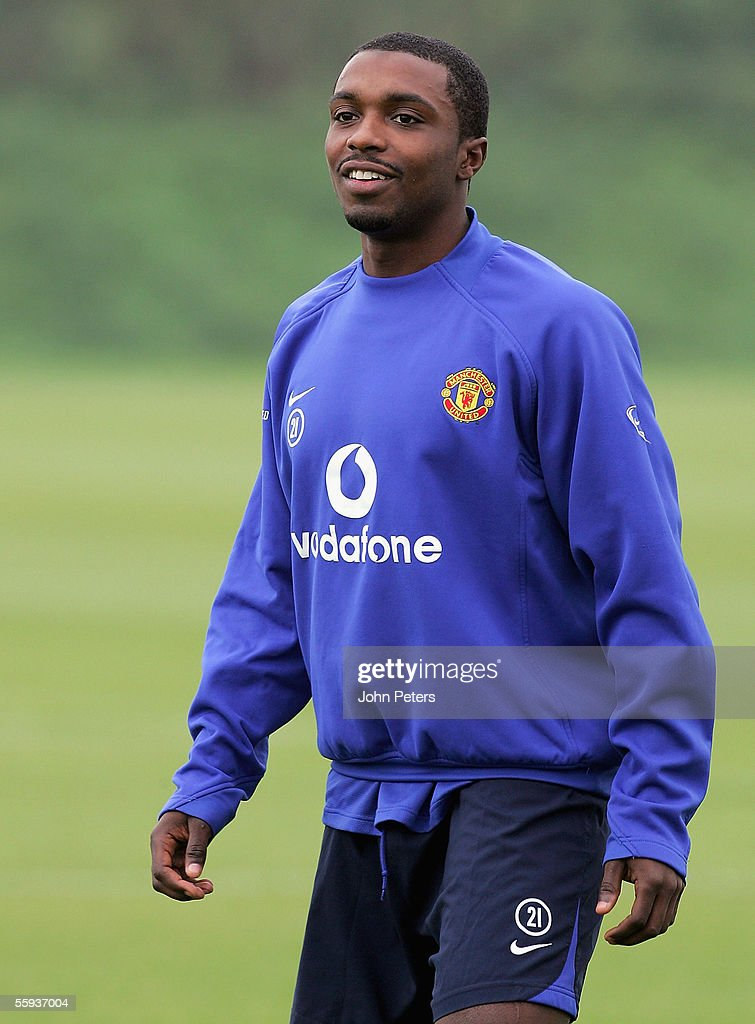 Manchester United Training Session and Press Conference : ニュース写真