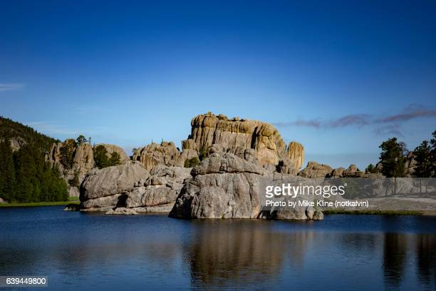 sylvan lake - black hills stock photos and pictures