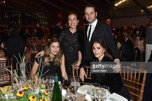 Sylvana Durrett Amy Larocca Matthew Rhys and Keri Russell attend the Brooklyn Bridge Park Conservancy hosts the Brooklyn Black Tie Ball at Pier 2 at...