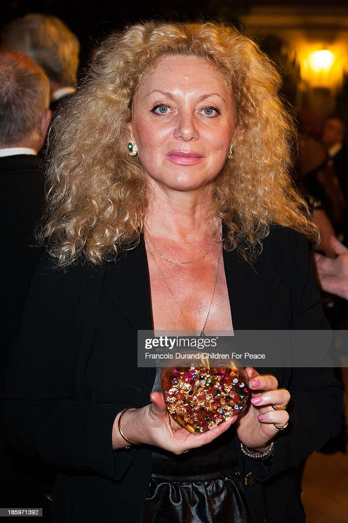 Sylvana Gainier attends the 'Opera Romeo and Juliette' : Gala to the benefit of the The Children for Peace association, on October 26, 2013 in Monte-Carlo, Monaco.