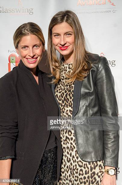 Sylvana Soto and Silvana Surety attend the 2015 Glasswing International Benefit Gala at Tribeca Three Sixty on April 23 in New York City