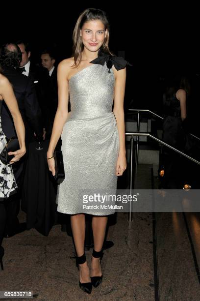 Sylvana SotoWard attends Apollo Circle Benefit 2009 Sponsored by Carolina Herrera at The Metropolitan Museum of Art on November 12 2009 in New York...